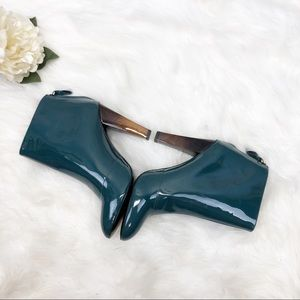 7 For All Mankind Shoes - 7FAMK Patent Leather Booties Sz 8.5